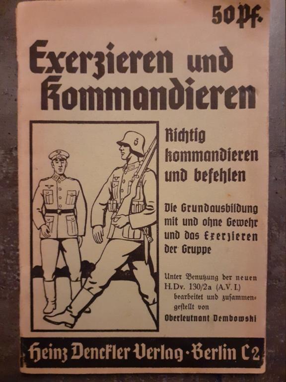Les livrets  manuels  du gewehr / karabiner 98k 20210154