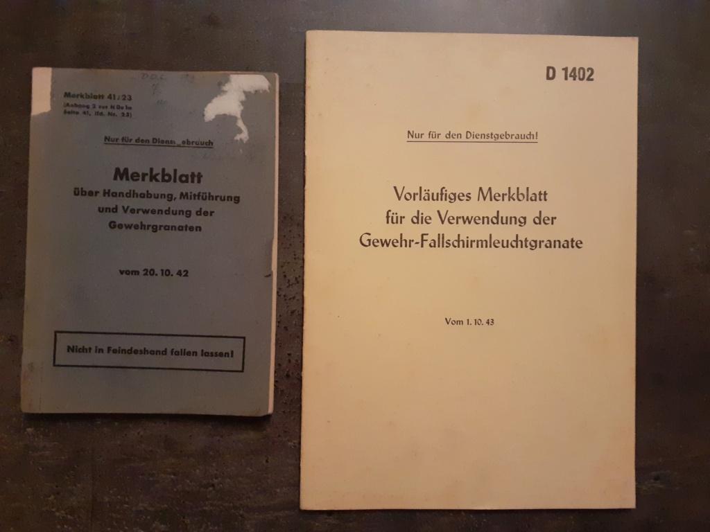 Les livrets  manuels  du gewehr / karabiner 98k 20210156
