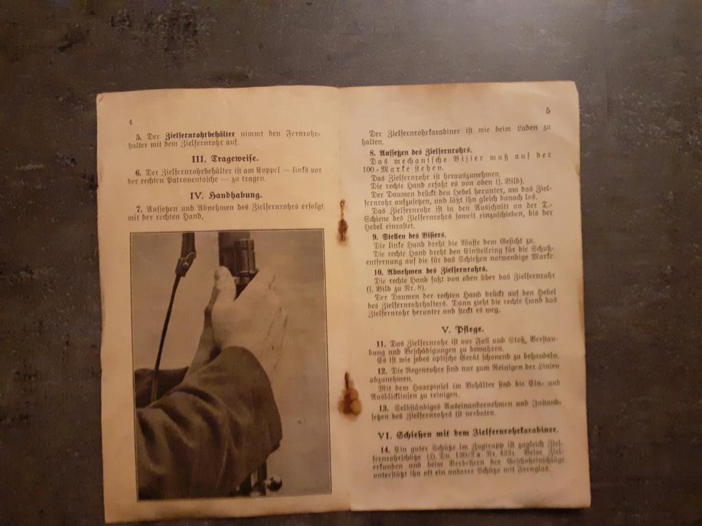 Les livrets  manuels  du gewehr / karabiner 98k 20210158