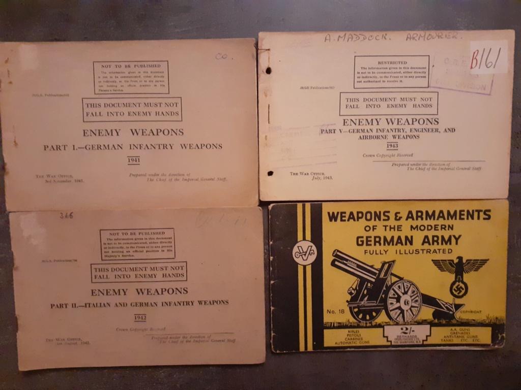 Les livrets  manuels  du gewehr / karabiner 98k 20210163