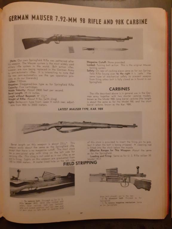Les livrets  manuels  du gewehr / karabiner 98k 20210164