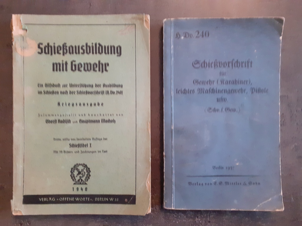 Les livrets  manuels  du gewehr / karabiner 98k 20210168