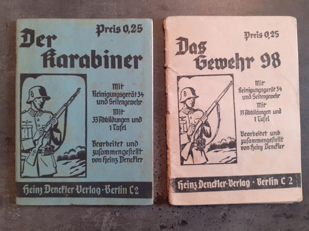 Les livrets  manuels  du gewehr / karabiner 98k 20210169
