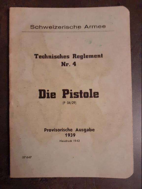 Livrets et manuels du Luger P08 et Parabellum 20210170