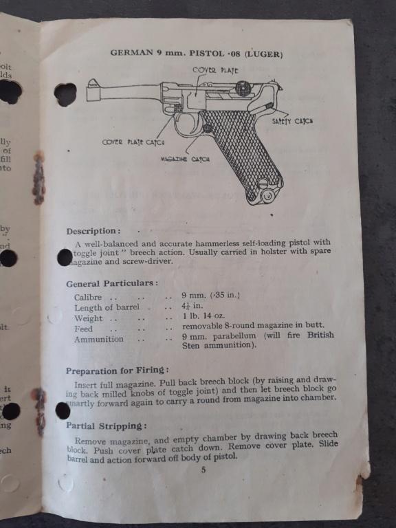 Livrets et manuels du Luger P08 et Parabellum - Page 2 20210610