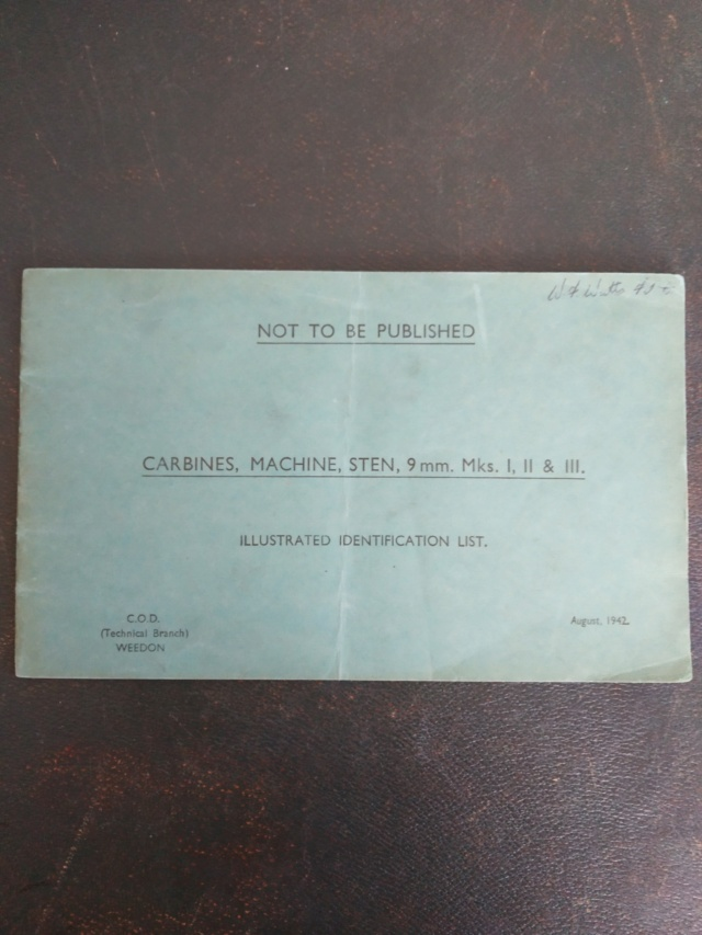 Les livrets / notices du PM STEN Img_2139