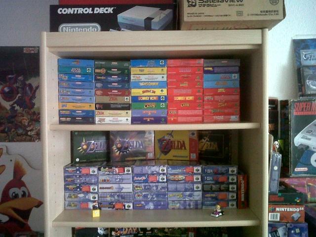 == World of Nintendo collection == < New gameroom p15> Img00711