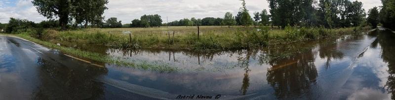 Inondations et débordements divers dans le Sud Bordelais Panora81