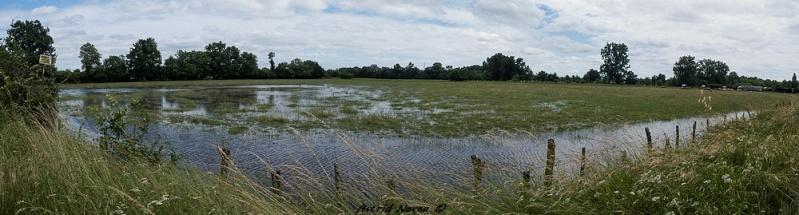 Inondations et débordements divers dans le Sud Bordelais Panora82
