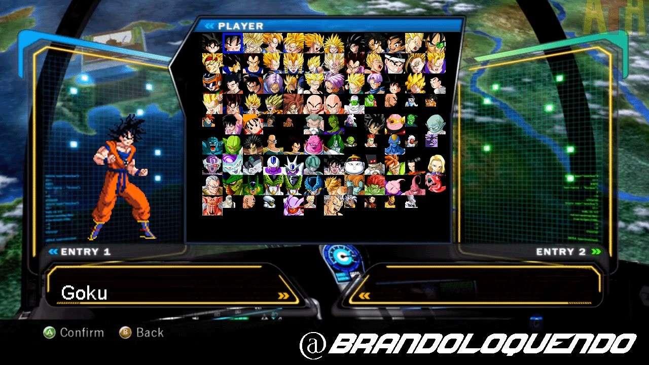 Dragon Ball Z Ultimate Tenkaichi Mugen 53410