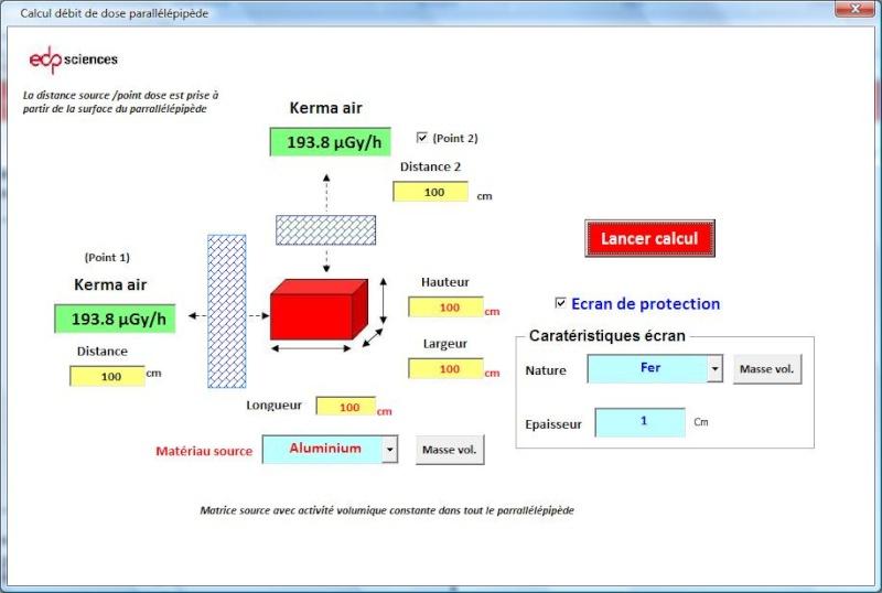 Utilitaires de calcul : DOSIMEX - Page 3 Dosime11