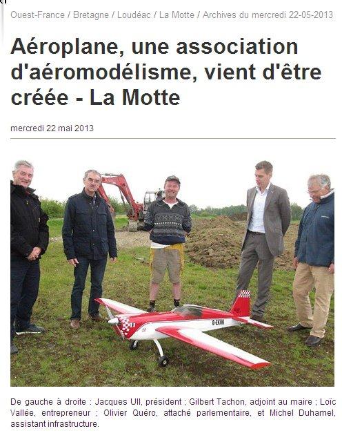 """aéroplane 22"" article presse Aaro_p10"
