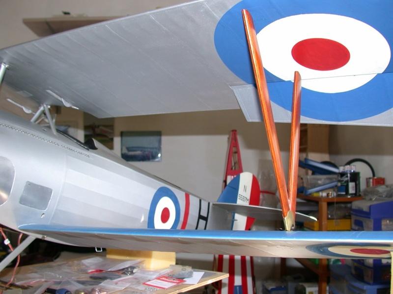 """Maquette """"Nieuport 27"""" positionnement de l'aile basse sesquiplan Dscn7024"""