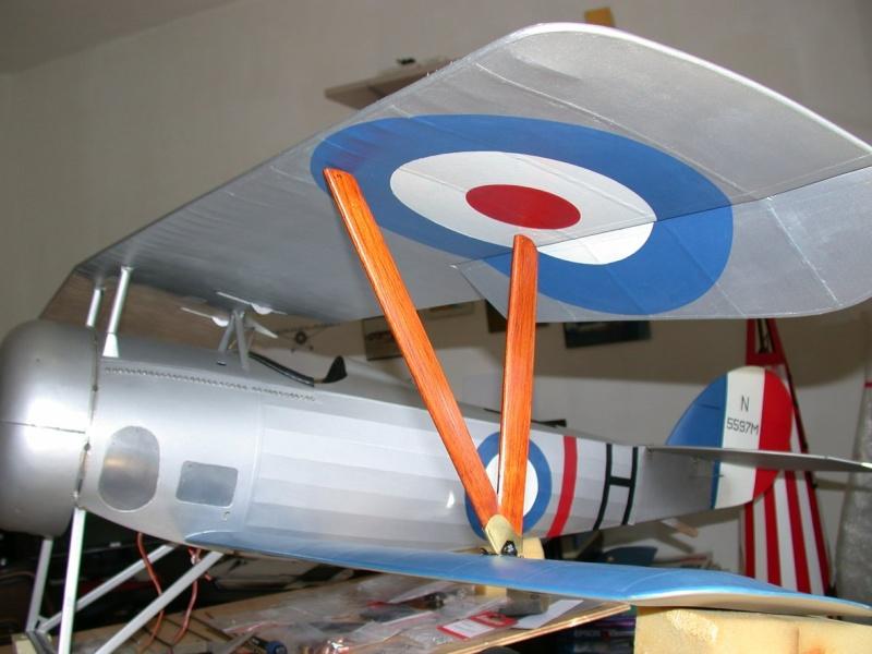 """Maquette """"Nieuport 27"""" positionnement de l'aile basse sesquiplan Dscn7025"""