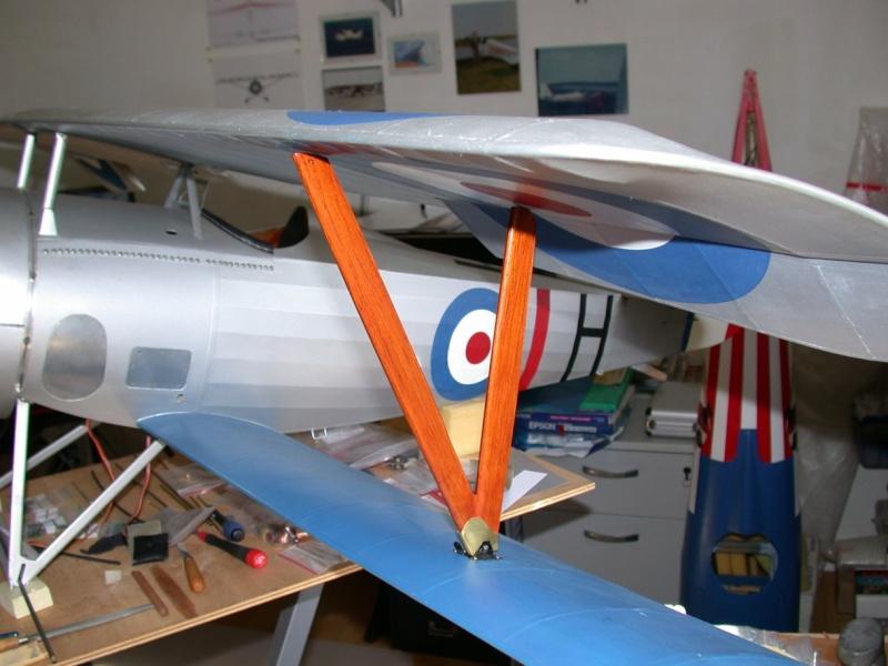 """Maquette """"Nieuport 27"""" positionnement de l'aile basse sesquiplan Dscn7026"""