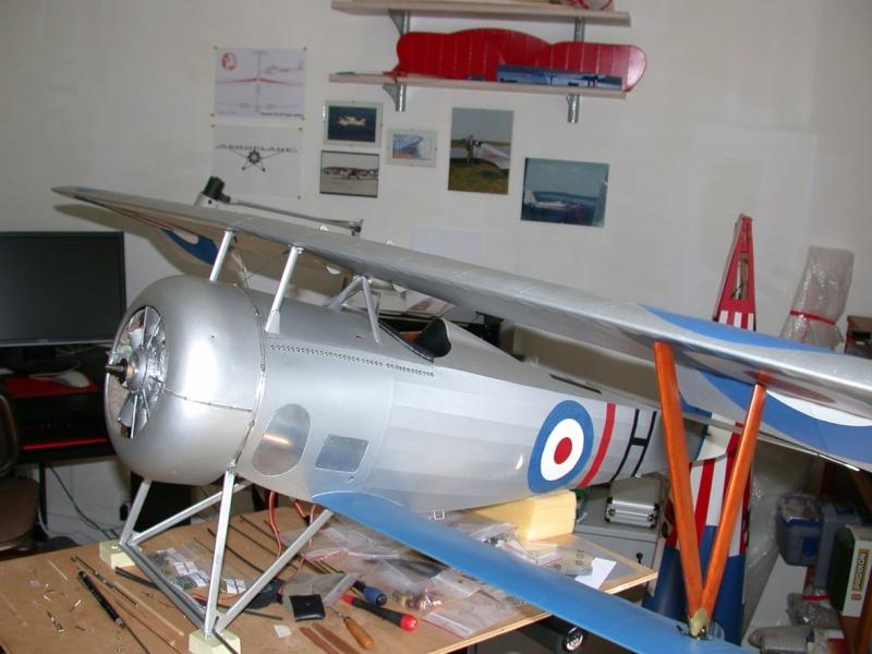 """Maquette """"Nieuport 27"""" positionnement de l'aile basse sesquiplan Dscn7027"""