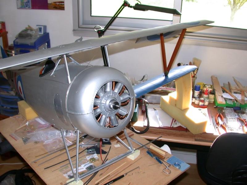 """Maquette """"Nieuport 27"""" positionnement de l'aile basse sesquiplan Dscn7030"""