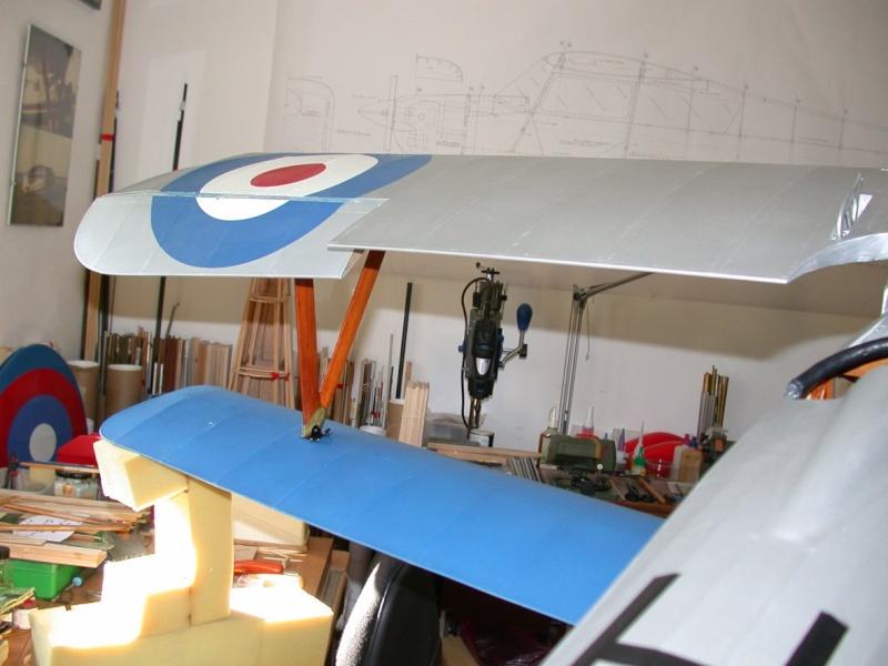 """Maquette """"Nieuport 27"""" positionnement de l'aile basse sesquiplan Dscn7033"""