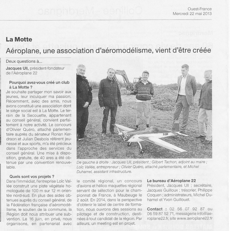 """""""aéroplane 22"""" article presse Img_0010"""