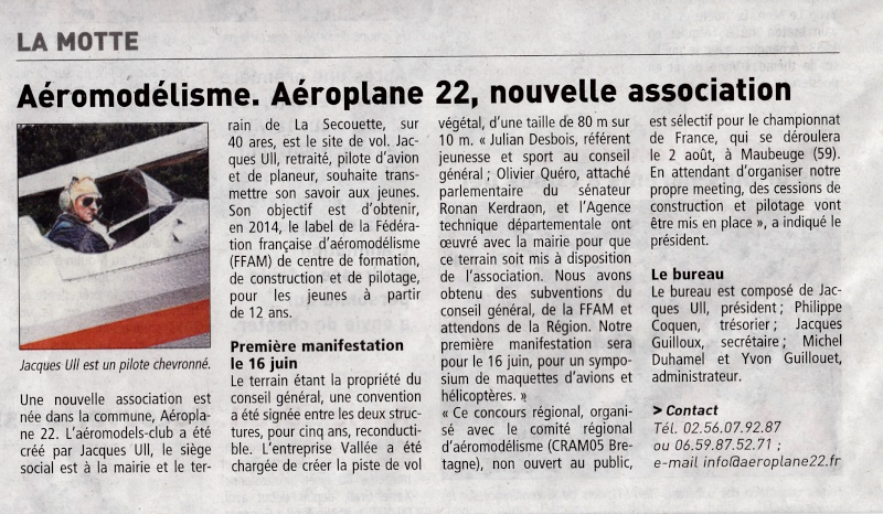 """""""aéroplane 22"""" article presse Img_0014"""
