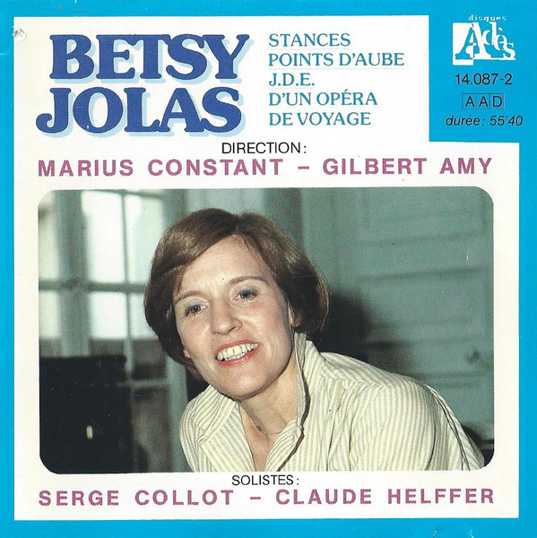 Betsy Jolas (1926) R-108310