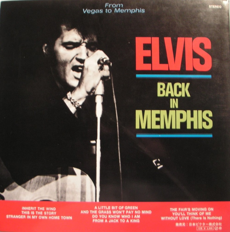 ELVIS IN PERSON / ELVIS BACK IN MEMPHIS 1d11