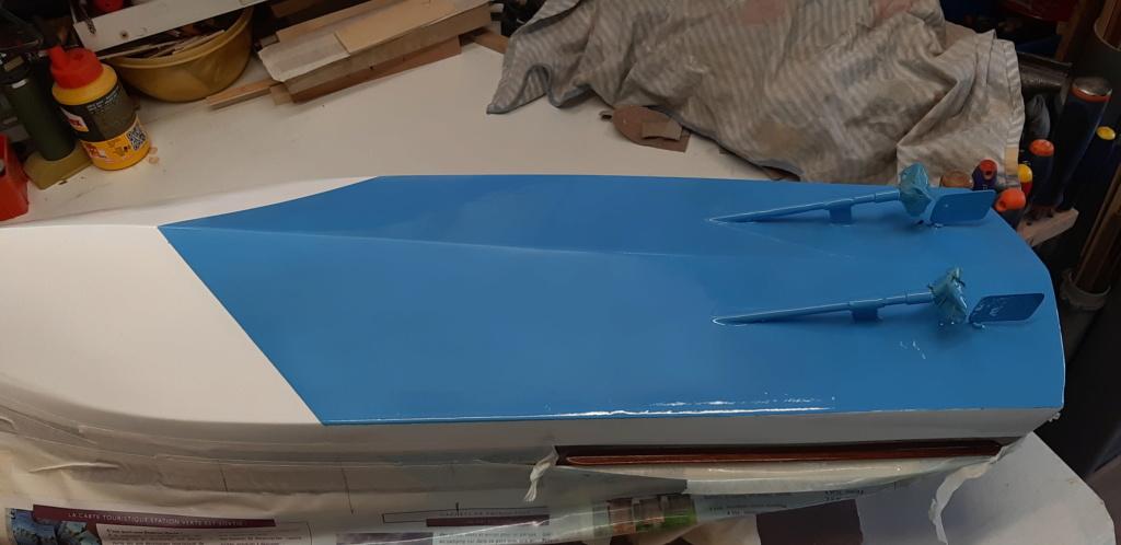 Mon Riva aquarama echelle 1/10 de chez Amati - Page 2 20200494