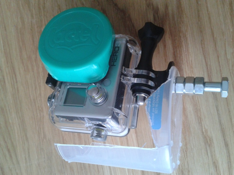 Masque de plongée avec attache GoPro 2013-019