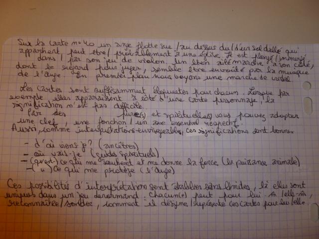 Lenormand Mystique ► Elizabeth Regula Fiechter - Page 8 P1050725