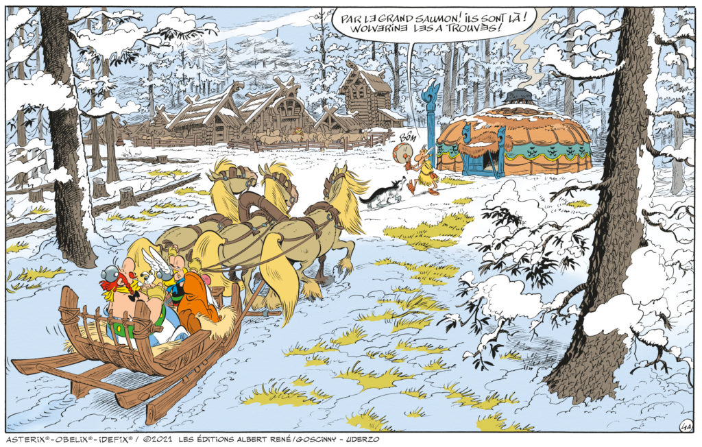 Asterix et le Griffon 39eme Album par Ferri et Conrad A39-ca10