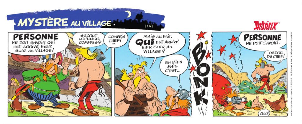 Nouvel album d'Asterix La fille de Vercingetorix à partir du 14 octobre 2019 Alb38-10
