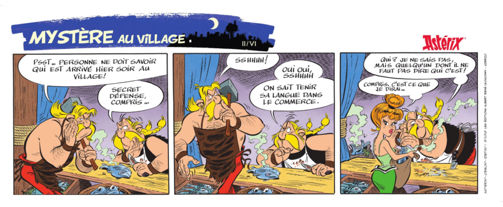 Nouvel album d'Asterix La fille de Vercingetorix à partir du 14 octobre 2019 Alb38-11