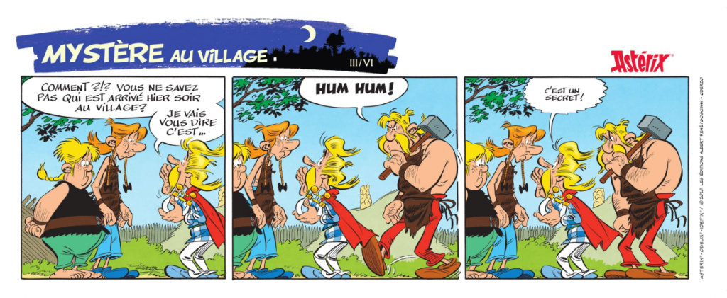 Nouvel album d'Asterix La fille de Vercingetorix à partir du 14 octobre 2019 Alb38-12