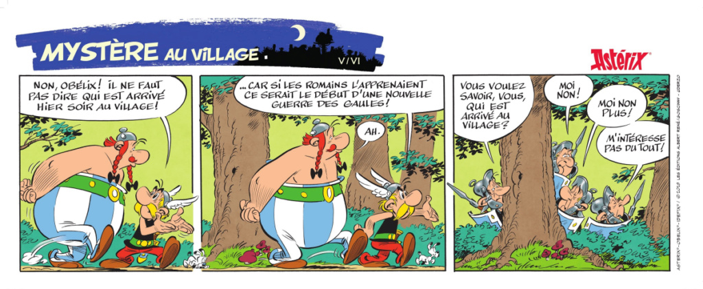Nouvel album d'Asterix La fille de Vercingetorix à partir du 14 octobre 2019 Alb38-15