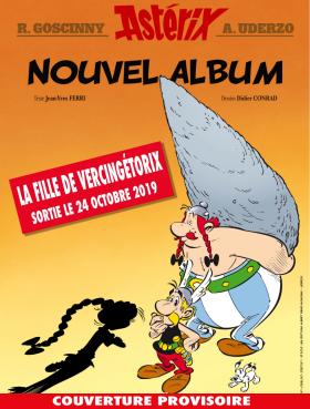 Nouvel album d'Asterix La fille de Vercingetorix à partir du 14 octobre 2019 Alb_3810