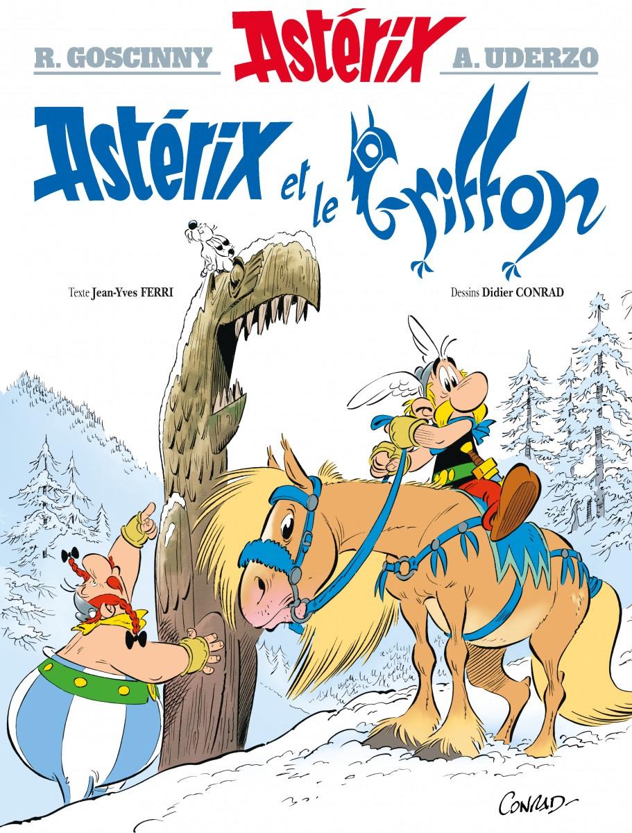 Asterix et le Griffon 39eme Album par Ferri et Conrad Asteri38