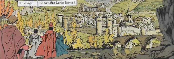 Festival de Bande dessinée Sainte Enimie 30 juin 1er juillet 2018 Enimie12