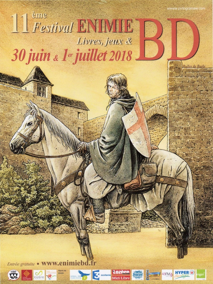 Festival de Bande dessinée Sainte Enimie 30 juin 1er juillet 2018 Festiv10