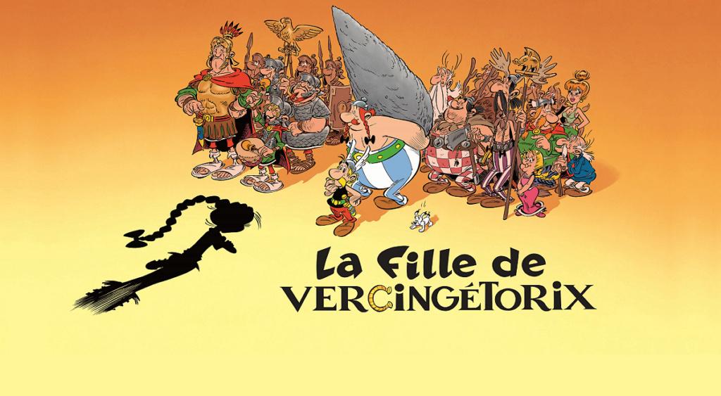 Nouvel album d'Asterix La fille de Vercingetorix à partir du 14 octobre 2019 La_fil11