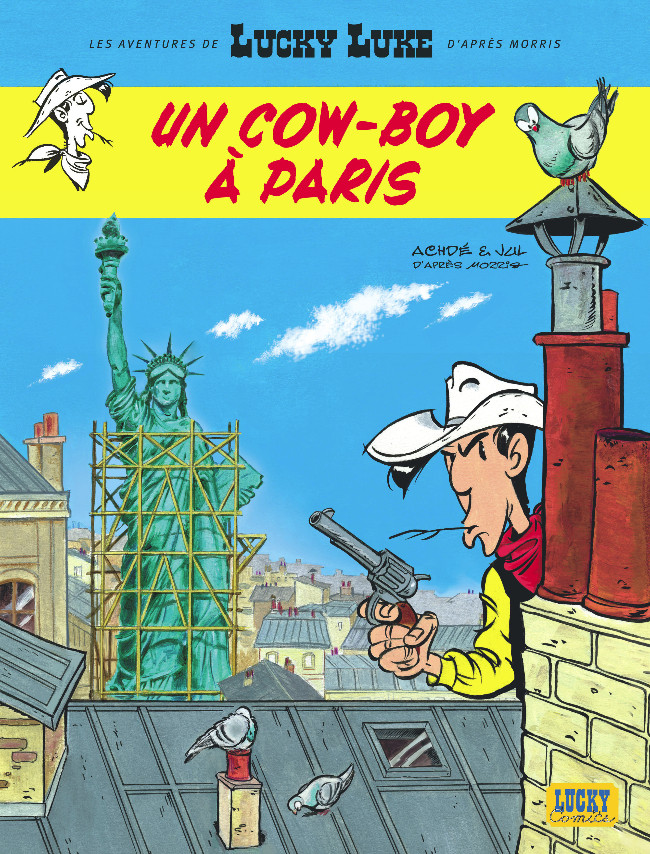 Lucky Luke Un cow boy a Paris Lucky_10