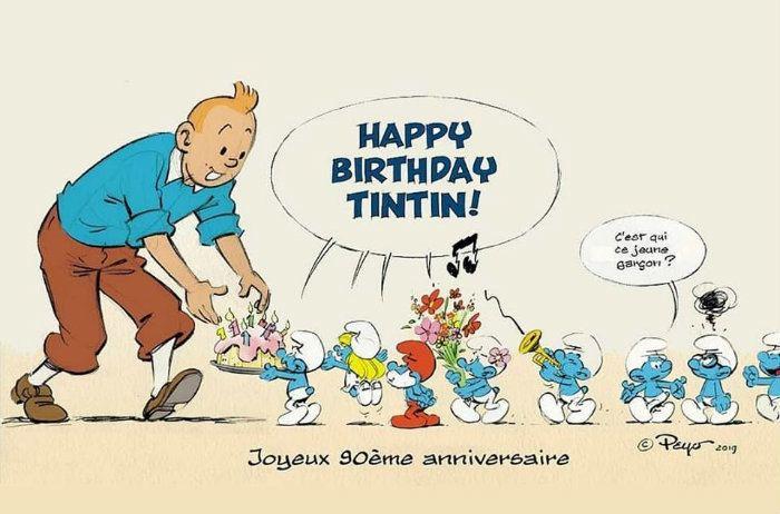 Tintin, un jeune homme de 90 ans Tintin10