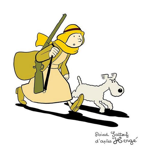 Tintin, un jeune homme de 90 ans Tintin15