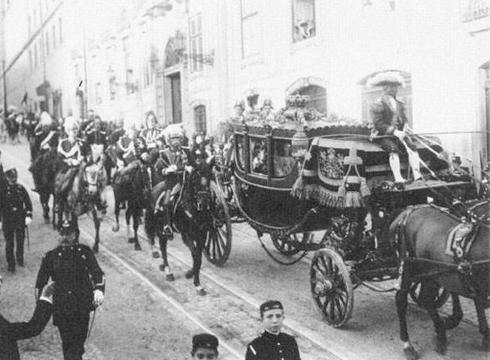 Acclamation, Serment et Sacre del Rey des Eslagnes 1929 Dmi410