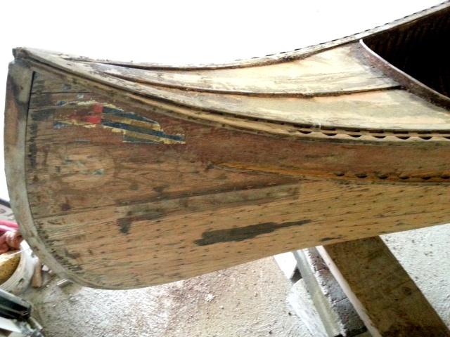 Canoe bois, genre CHAUVIERE 20121113