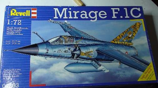 Mirage F1C (revell) 311