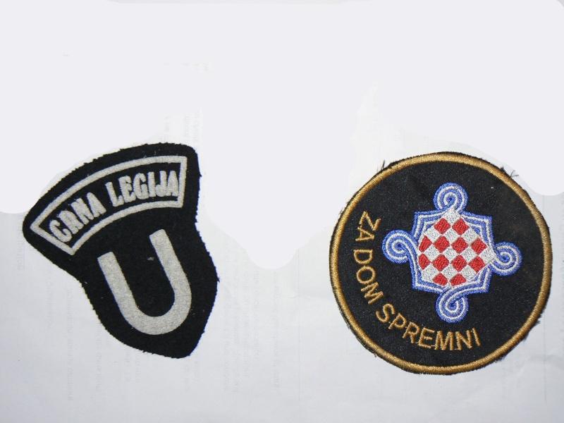 Mercenaires dans les forces croates Hos11