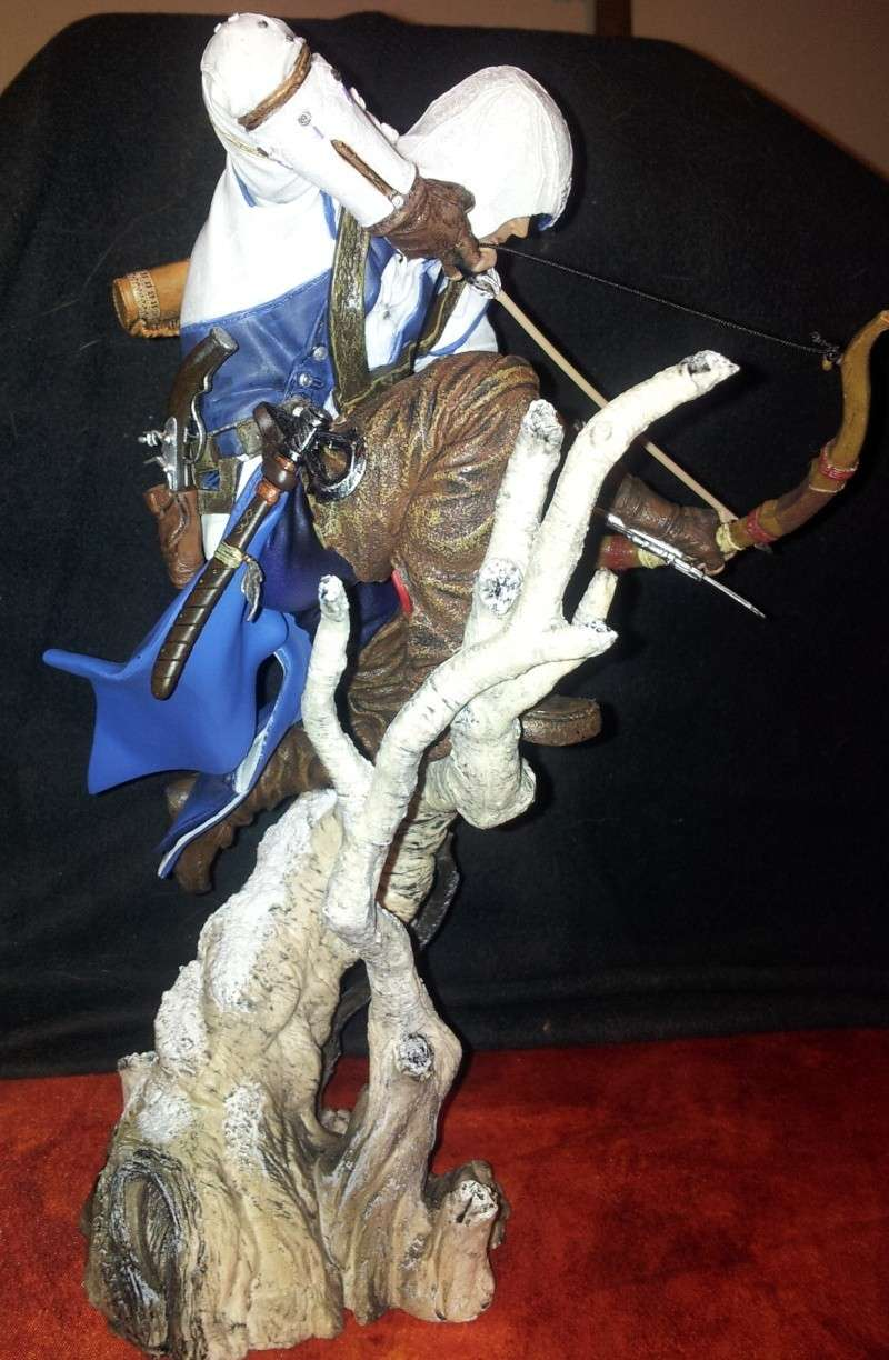 Assassin's Creed 3, figurine Connor Kenway 2013-016