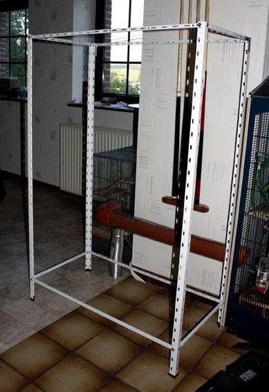 En construction d'une nouvelle cage  _mg_6913