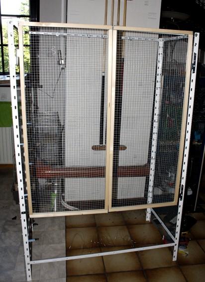 En construction d'une nouvelle cage  _mg_6927