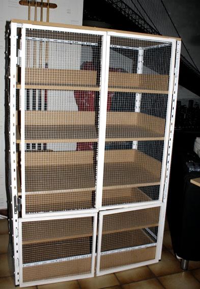 En construction d'une nouvelle cage  _mg_6950